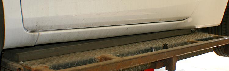 LongPad MT 1250x230x33 Lyftplatta
