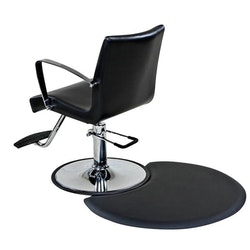 Arbetsmatta Work-step frisör Halvcirkel