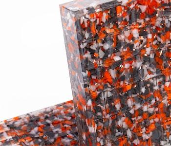 MT 200x100x25 Universal lyftkloss i recyckling polyuretan