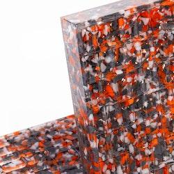 MT 100x100x60 lyftkloss i Recyckling polyuretan GreenLine 200
