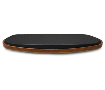Pur-step 360° Aktiv Balans platta äggformad svart