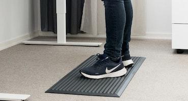 Pur-step  100x40cm den bredare men lätt hanterliga arbetsmattan
