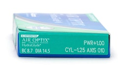 Air optix aqua Hydraglyde for astigmatism (6st)