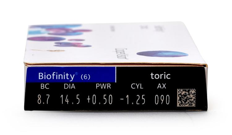 Biofinity Toric (6st)