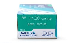 Dailies AquaComfort Plus Toric  (30 st)