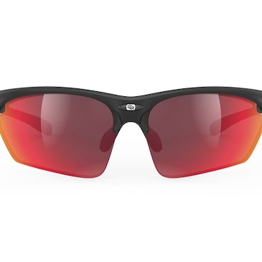 Rudy Project Stratofly  Black Matte - Multilaser red
