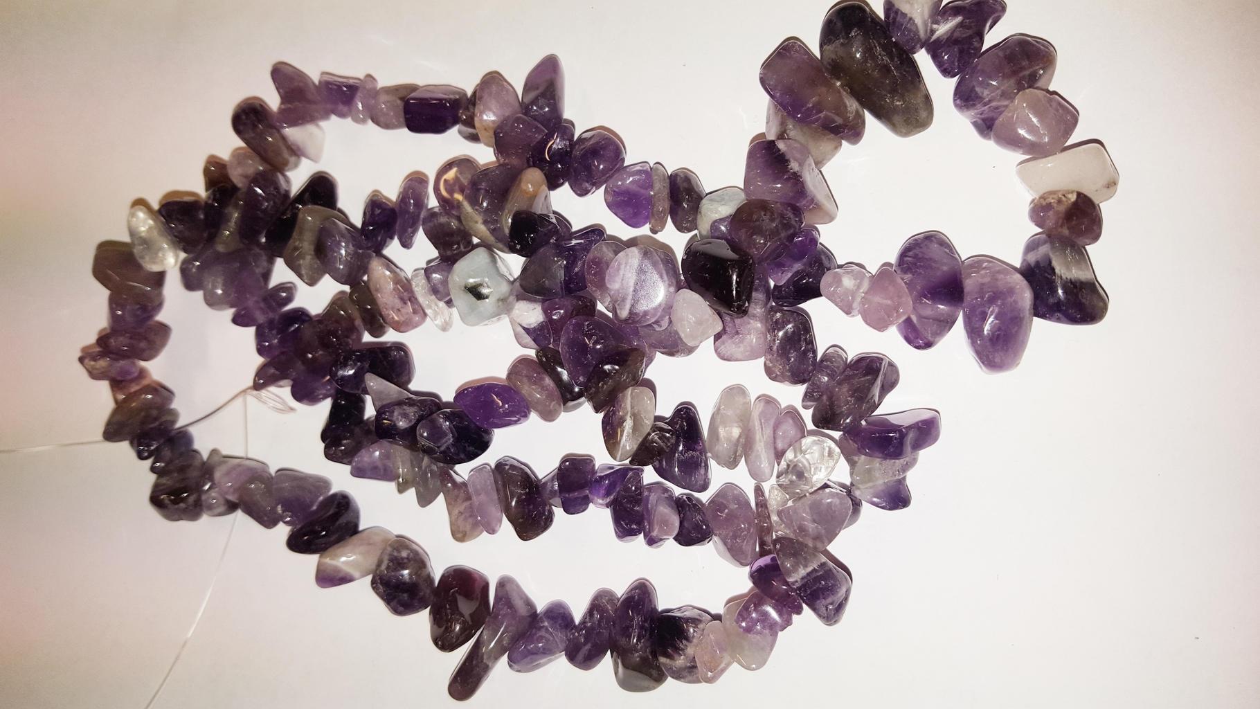 Ädelstensnuggets - Swewa Beads