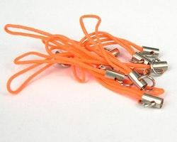 Mobil snodd strap Orange 10st