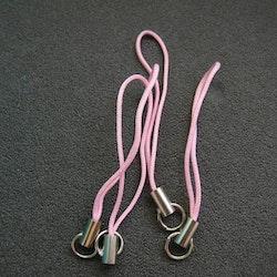 Mobil snodd strap Light Rose Rosa 10st