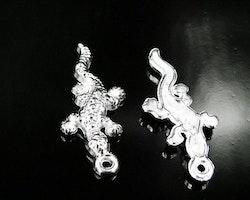 Lizard Ödla salamander berlock charm