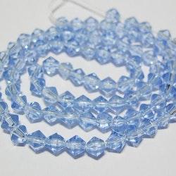 Bicone - Glas - Sapphire