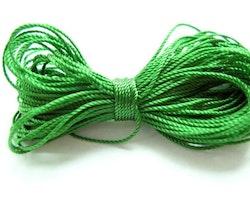 Pärltråd nylon grön 10m
