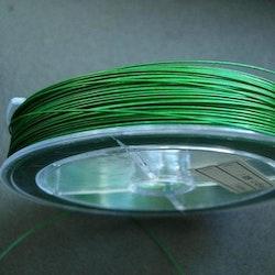 Tigertail - Beading - Wire - Grön - 2,5m