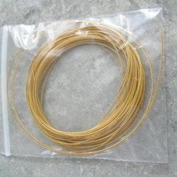 Tigertail - Beading - Wire - Gul - 2,5m