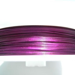 Plastad - Wire - 0,38mm - Amethyst - 2m