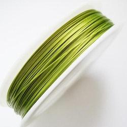 Plastad - Wire - 0,38mm - Lime - 2m