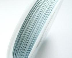 Plastad - Wire - 0,45mm - Vit - 2m