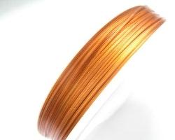 Plastad - Wire - 0,45mm - Koppar - 2m