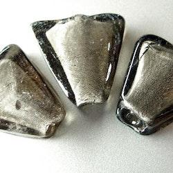 Silverfoil - Trekant - Svart - 2st
