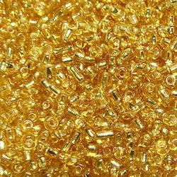 Glaspärlor - Seedbeads - Guld