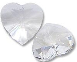 Swarovski - Crystal Heart - Crystal Clear - 1st