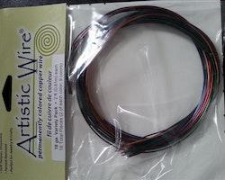 Artistic Wire - Koppartråd - Multi 9 färger - 18gauge
