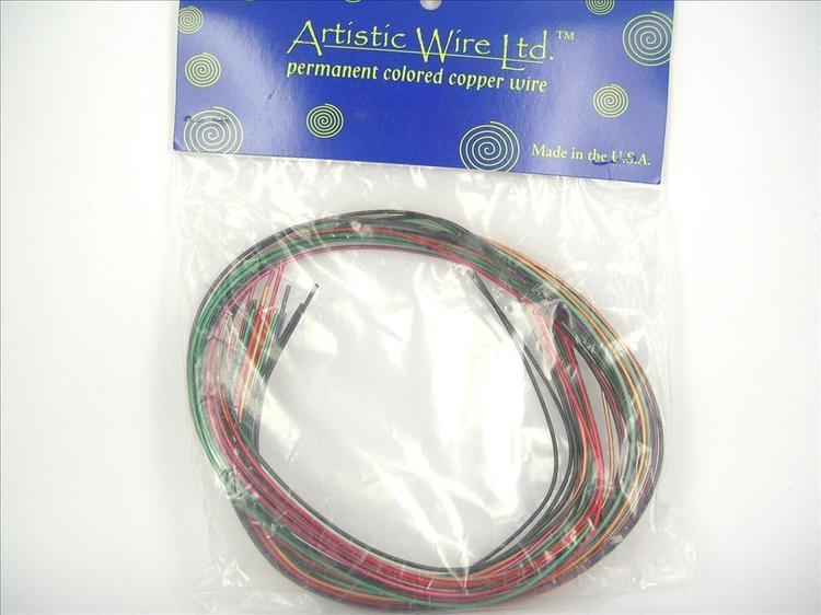 Artistic Wire - Koppartråd - Multi 9 färger - 16gauge