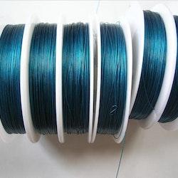 Plastad - Wire - 0,38mm - Aquamarine - 100m