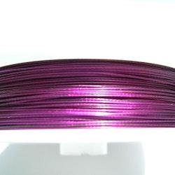 Plastad - Wire - 0,38mm - Lila - 100m