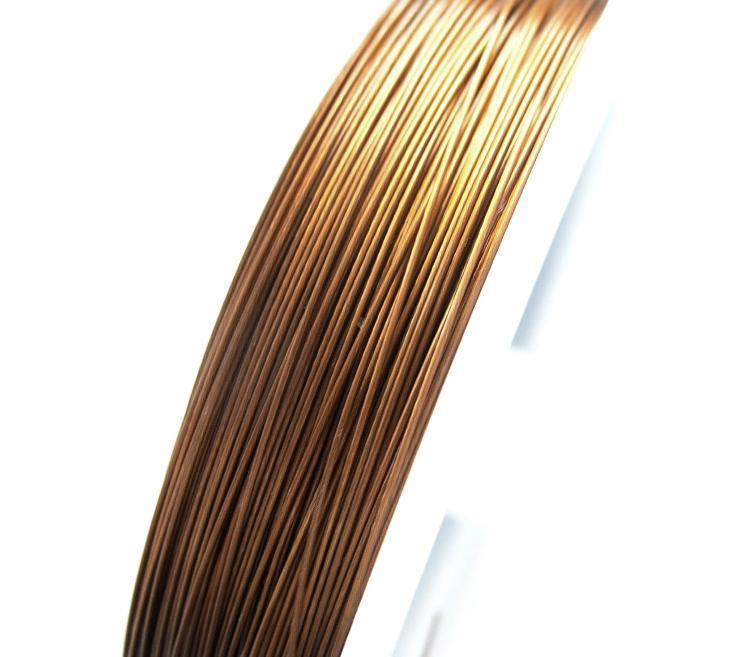 Plastad - Wire - 0,38mm - Copper - 100m