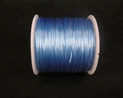 Elastisk tråd - Flat - Ljusblå - 1st rulle 70m