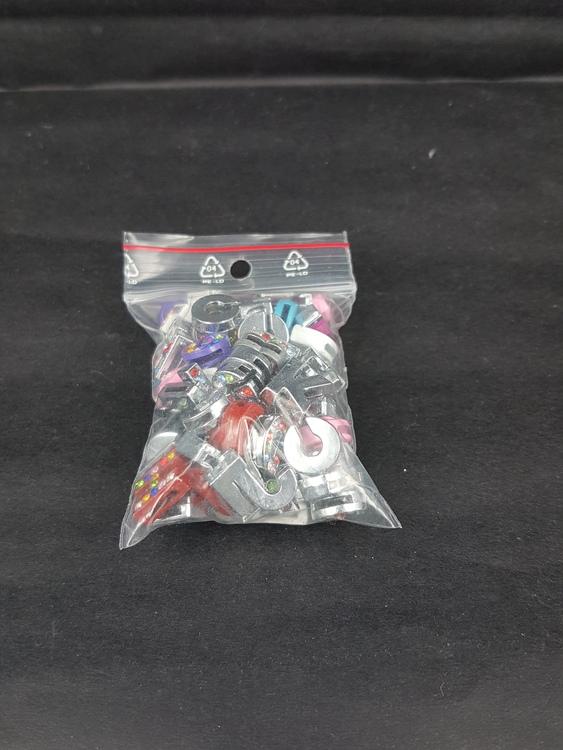 Bokstäver - Diamanter - Färg mix - Ca 97st