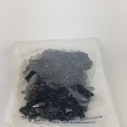 Ädelsten - Nuggets - Black Obsidian - 1sträng
