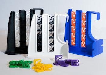 Familjepaket med 2st hållare, välj färg och antal clips, pris från: