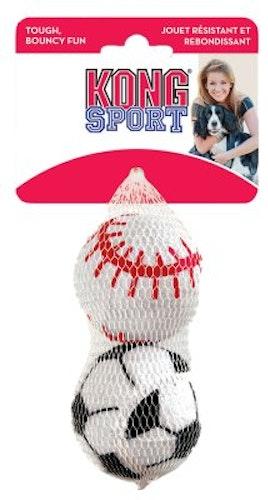 Kong Sport balls 2-p L-9cm