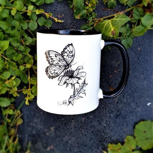 Mugg - Fjäril