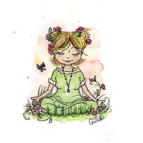 Print - Meditation Sister