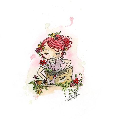 Print - Garden Sister
