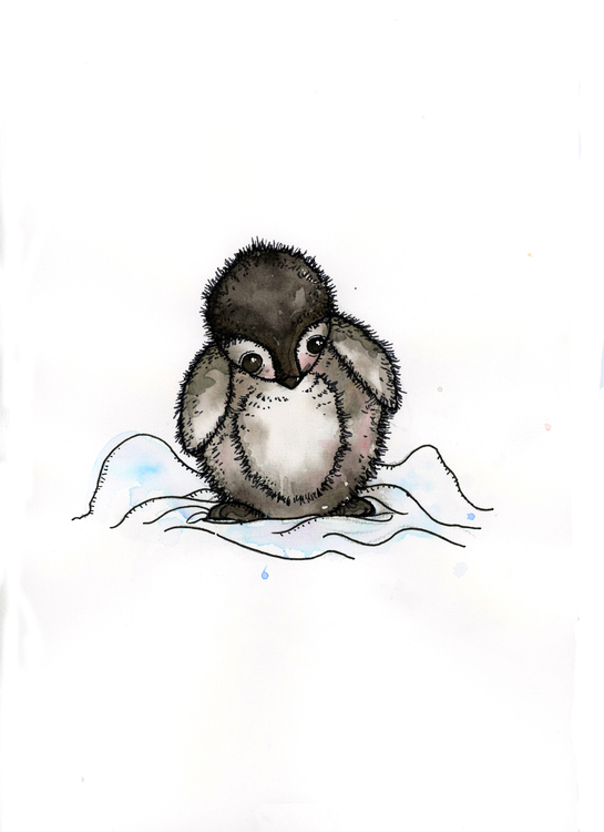 Print - Pingvinen Winter