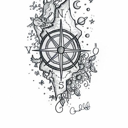 Print - Kompass