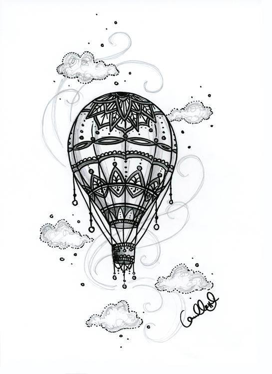 Print - Luftballong