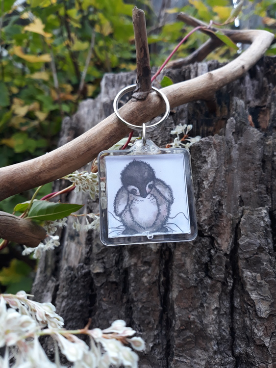 Nyckelring - Pingvinen Winter