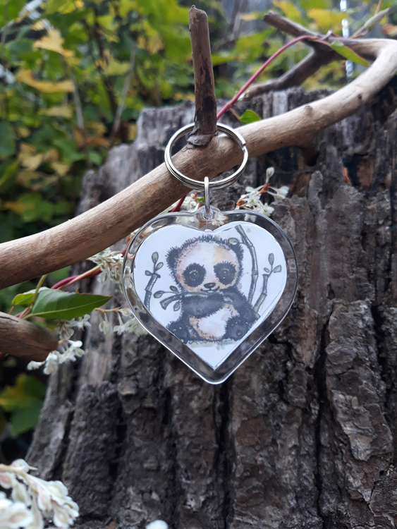 Nyckelring - Pandan Milou