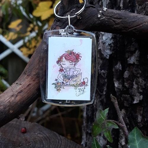Nyckelring - Garden Sister