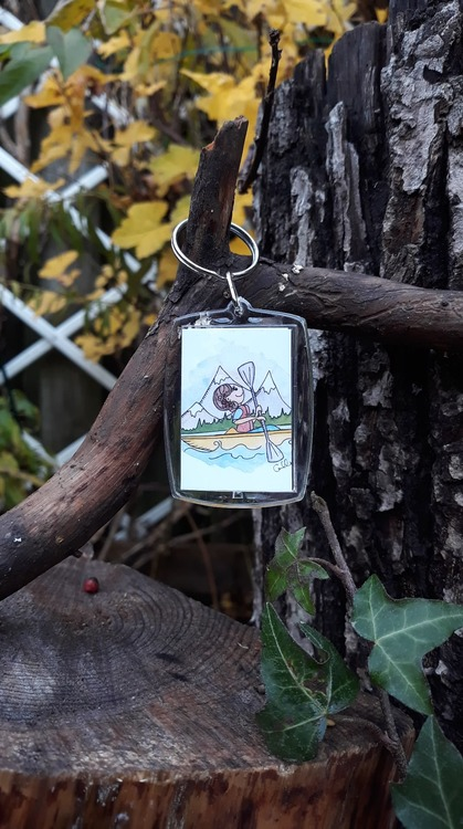 Nyckelring - Kayak Sister
