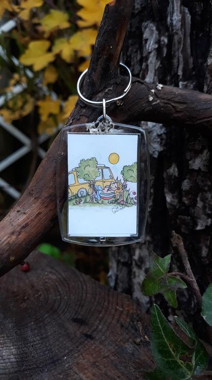 Nyckelring - Campvan Sister