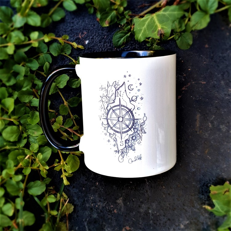 Mugg - Kompass