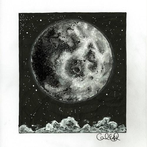 Print - Måne