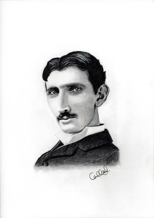 Print - Tesla