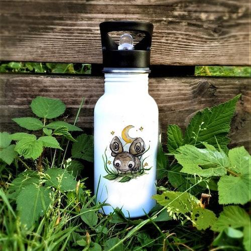 Vattenflaska- Nattfjäril